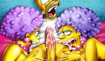 Hentai Porno - Imágenes Porno de los Simpson - imagenes-porno